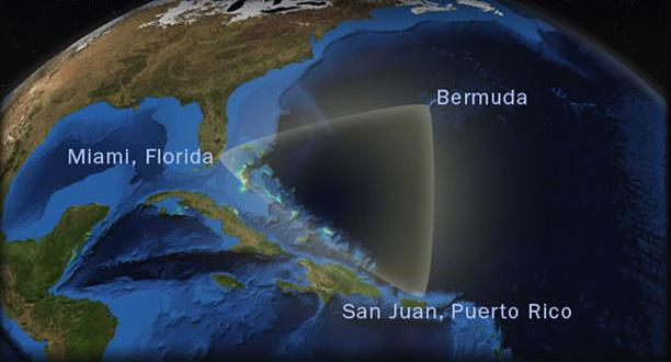 The Bermuda triangle is not recognized as a 'thing' by the US Navy (photo)