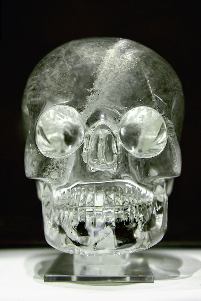 A Crystal Skull in the British Museum (still). (photo)