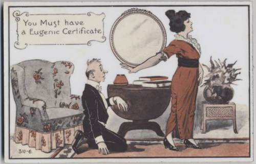 Some U.S. states passed laws barring marriages with the eugenically undesirable and dissolving existing marriages. Their goal was the creation of a eugenics certificate which would be necessary before marriage.