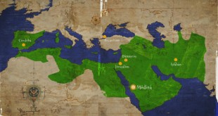 The caliphate at the end of the 8th century