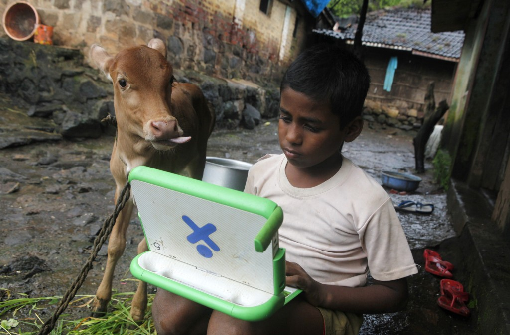 One laptop per child (photo)