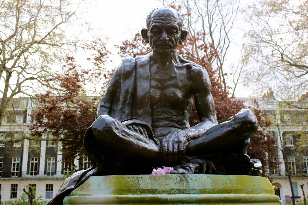 """This manslaughter must be stopped. You are losing. If you persist, it will result in greater bloodshed. Hitler is not a bad man. If you will call it off today he will follow suit."" Gandhi's letter to British viceroy Linlithgow in 1940. (photo)"