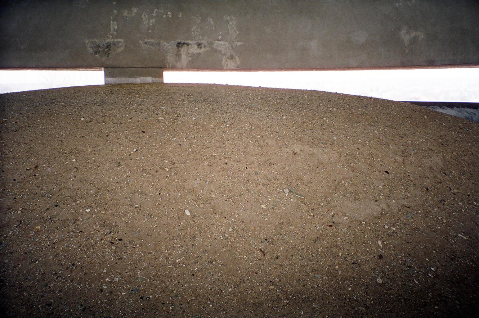 The ashes in the dome, up close – Majdanek, Poland