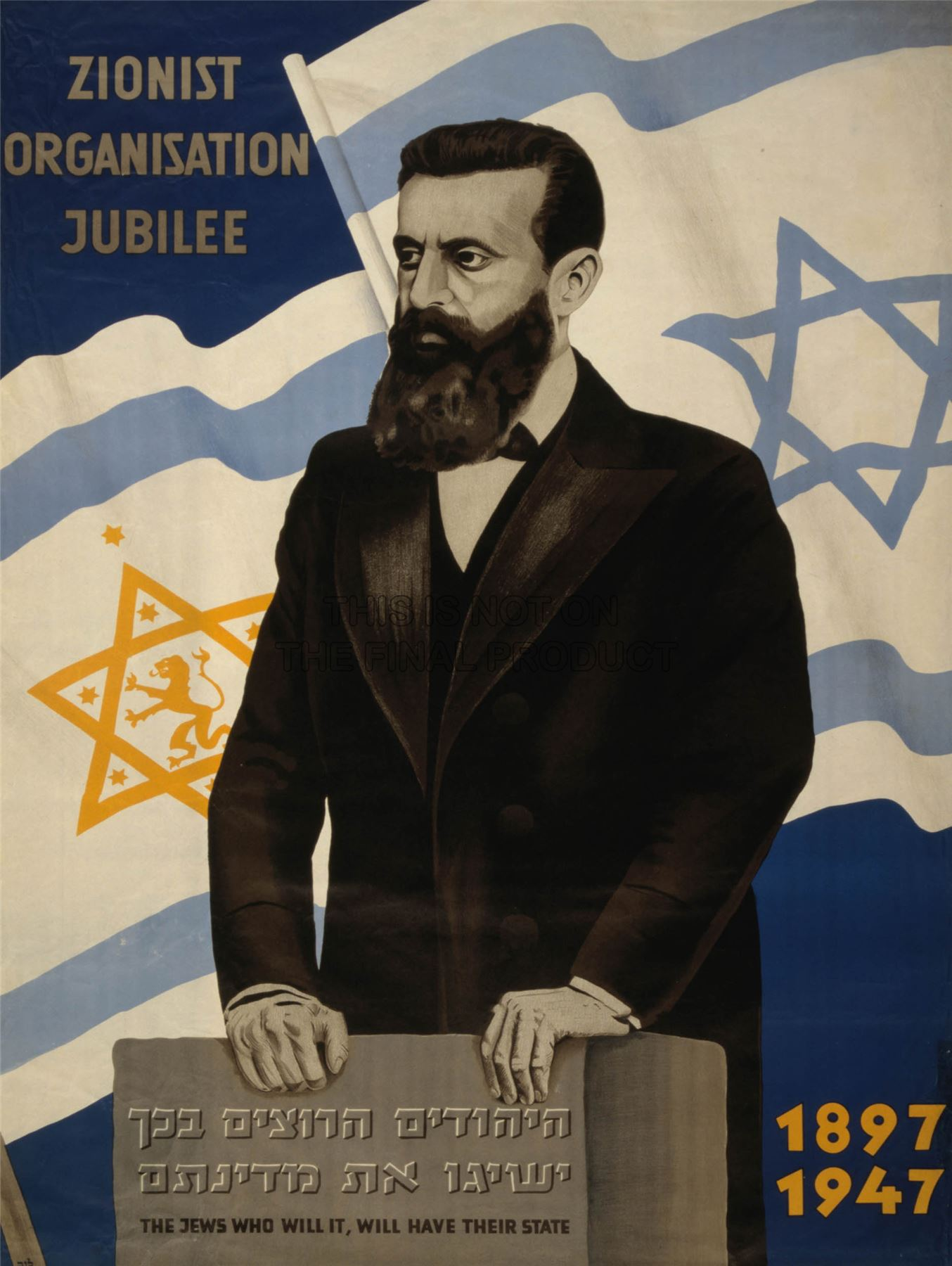 The founder of Zionism, Theodor Herzl (1860-1904) (photo)