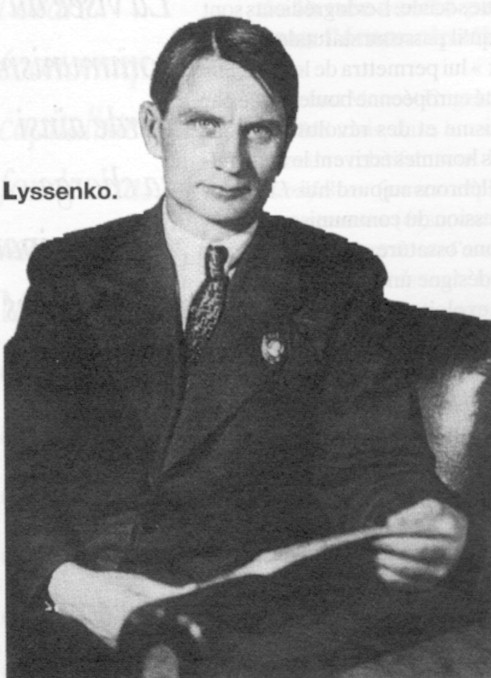 Trofim Denisovich Lysenko (1898 – 1976) (photo)