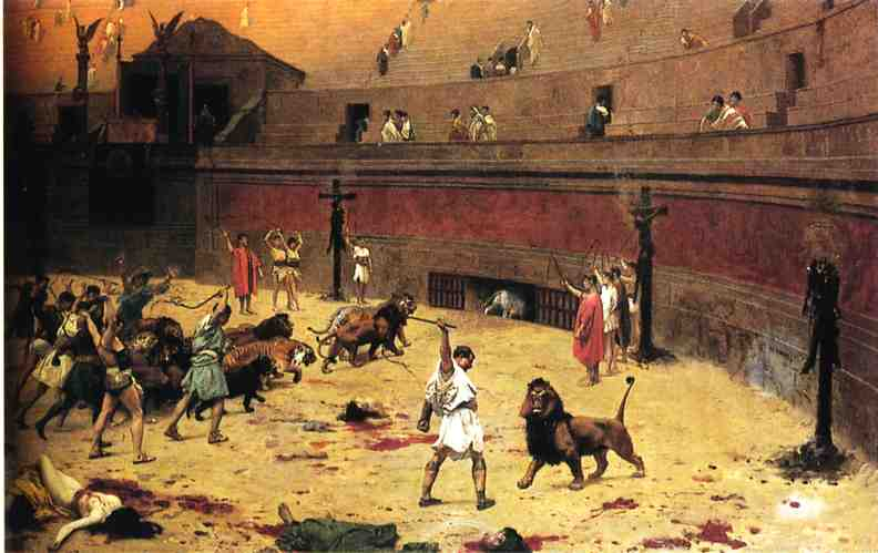"""Departure of Cats from the Circus"" by Jean-Leon Gerome (photo)"