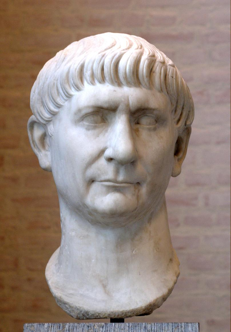 Imperator Caesar Nerva Traianus Divi Nervae filius Augustus;18 September 53 – 9 August 117 AD (photo)