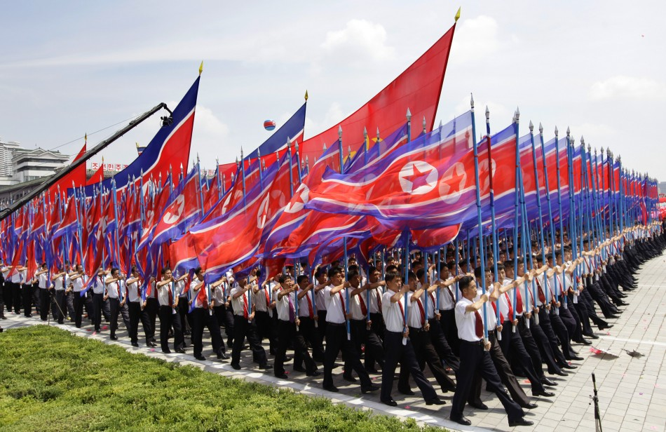 Parade for the 60 year anniversary of the ceasefire of the Korean war (photo)