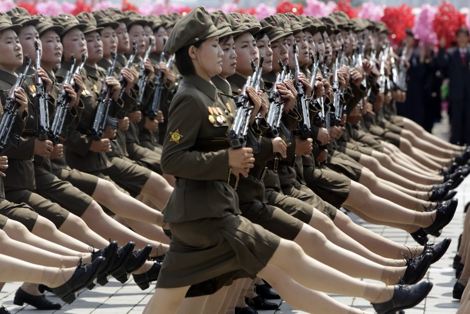 Women's parade during the 60 year anniversary for the ceasefire of the war of Korea (photo)