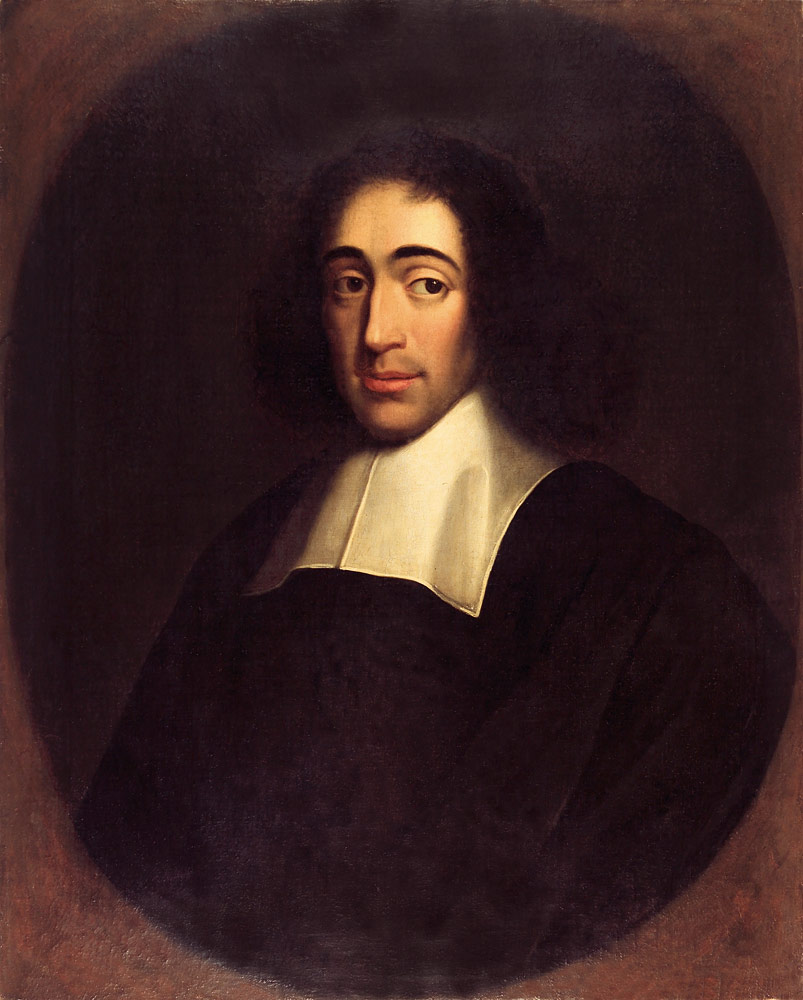 Baruch de Spinoza –portrait by an unknown painter, in 1665 (photo)