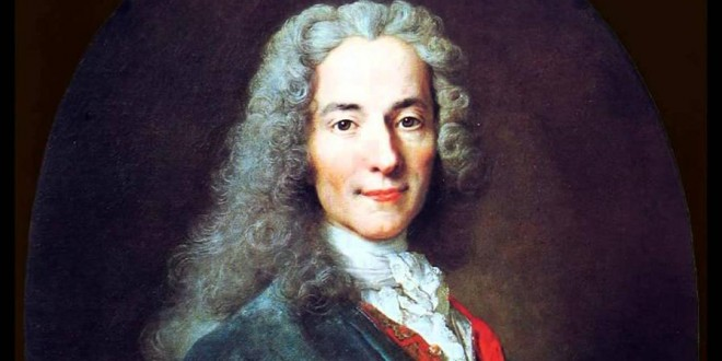 Voltaire and the confrontation of religious extremism