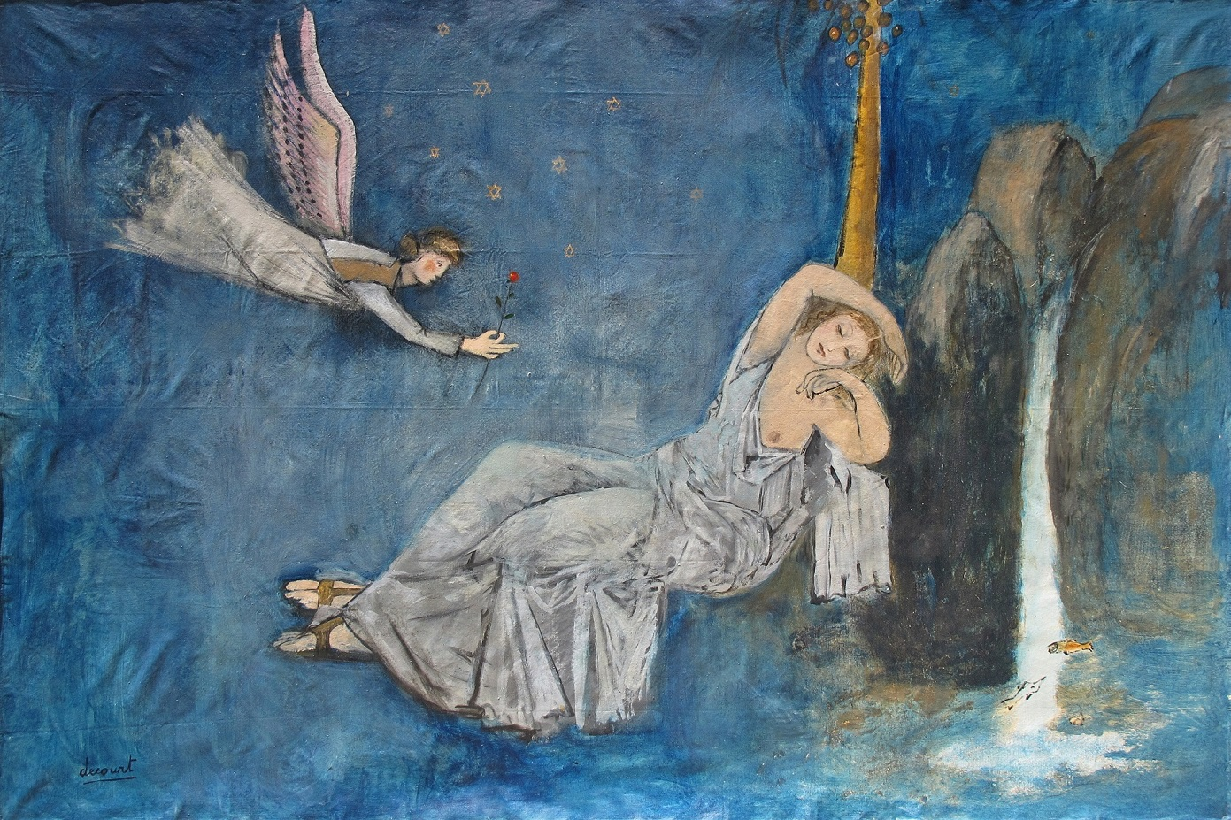 Vincent Decourt – Maryam with Angel (2013) (source)